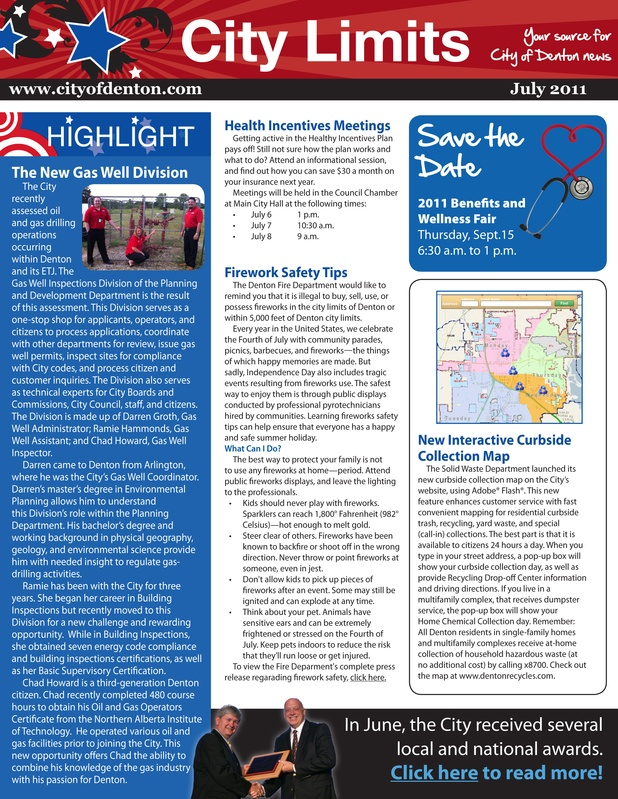 City Employee Newsletter