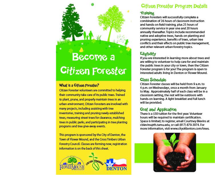 Citizen Forester Campaign
