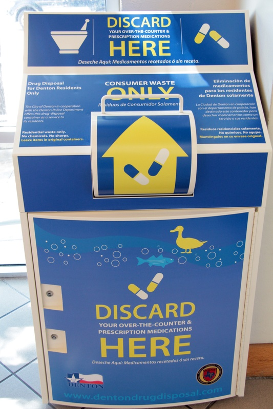 Drug Disposal Kiosk Art